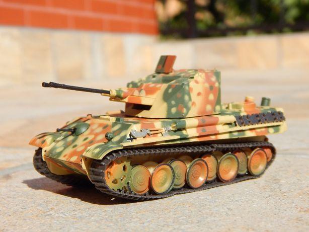 Macheta tun antiaerian autopropulsat german Flakpanzer Coelian sigilat