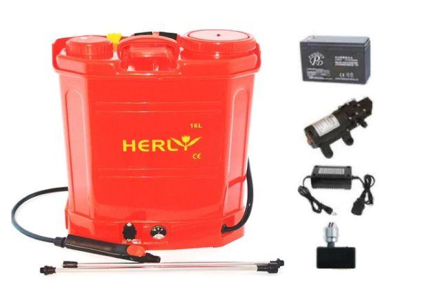 Pompa de stropit cu acumulator vermorel Herly, 16Litri,5 bar, Garantie