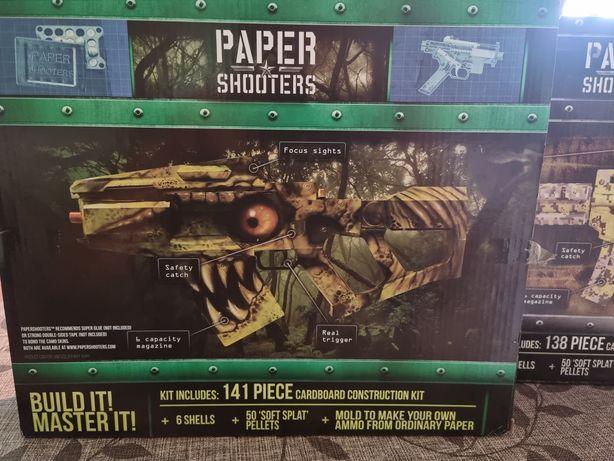 PAPER SHOOTER.Pusca cu gloanțe din hartie