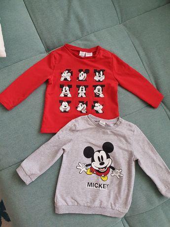 Bluze Mickey Mouse 12-18 luni 25lei ambele