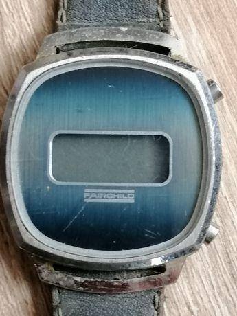 Ceas vechi, de colecție, funcțional (baterie noua) Fairchild 1970