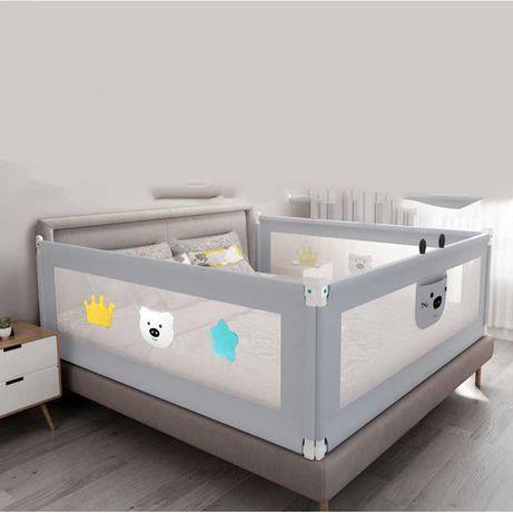 Bariera pentru pat bebelus, protectie pat, margine siguranta de 150cm