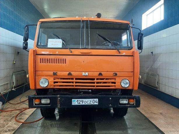 Камаз самосвал прицепом услуги, доставка, перевозка сыпучих материалов