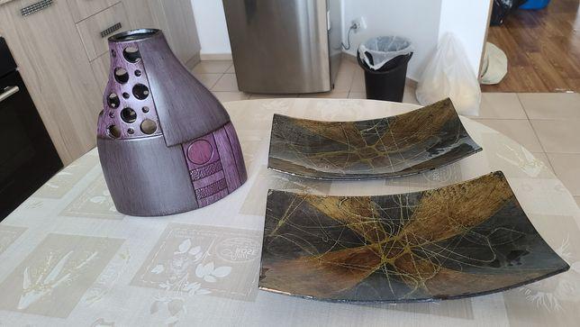 Новые декоративная ваза и чаши