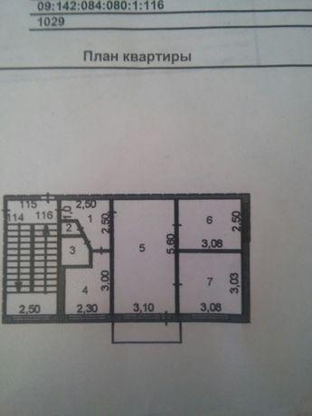 3- комнатная квартира 23 микрорайоне 47м² 4/5 этаж