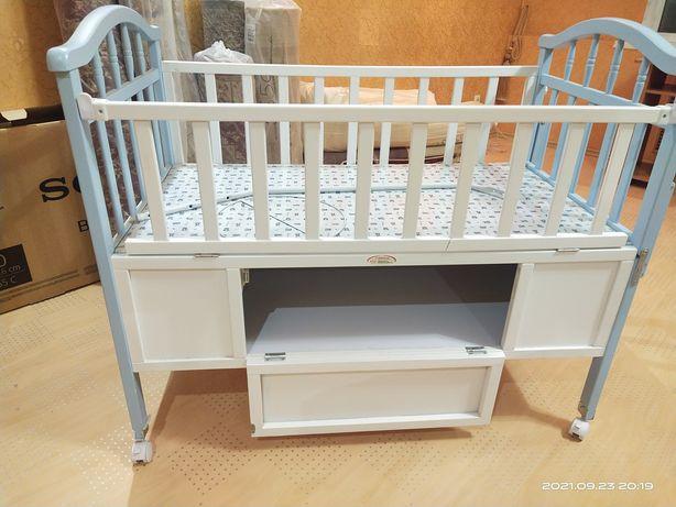 Детская кровать с люлькой!