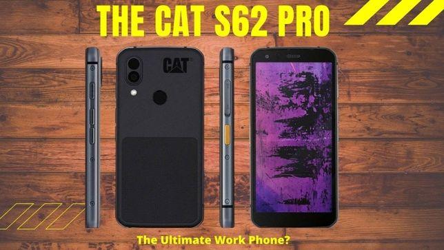 CAT S62 PRO смартфон с тепловизионной камерой + Чехол