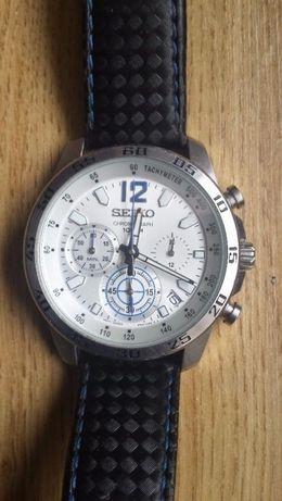 Ceas barbatesc SEIKO Mens Chronograph Silver Face SSB133P1