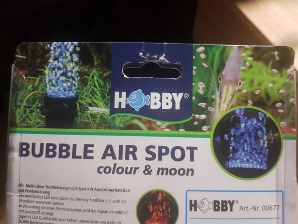 Bubble Air Spot Colour & Moon