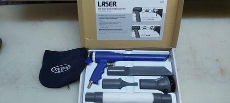 Pistol Aspirator pneumatic cu aer comprimat pentru atelier ca NOU