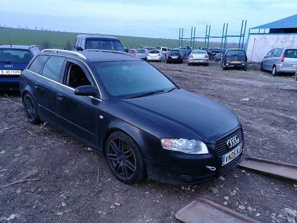 Продавам Ауди Audi А4 2.0 TDI комби 6ск. на части