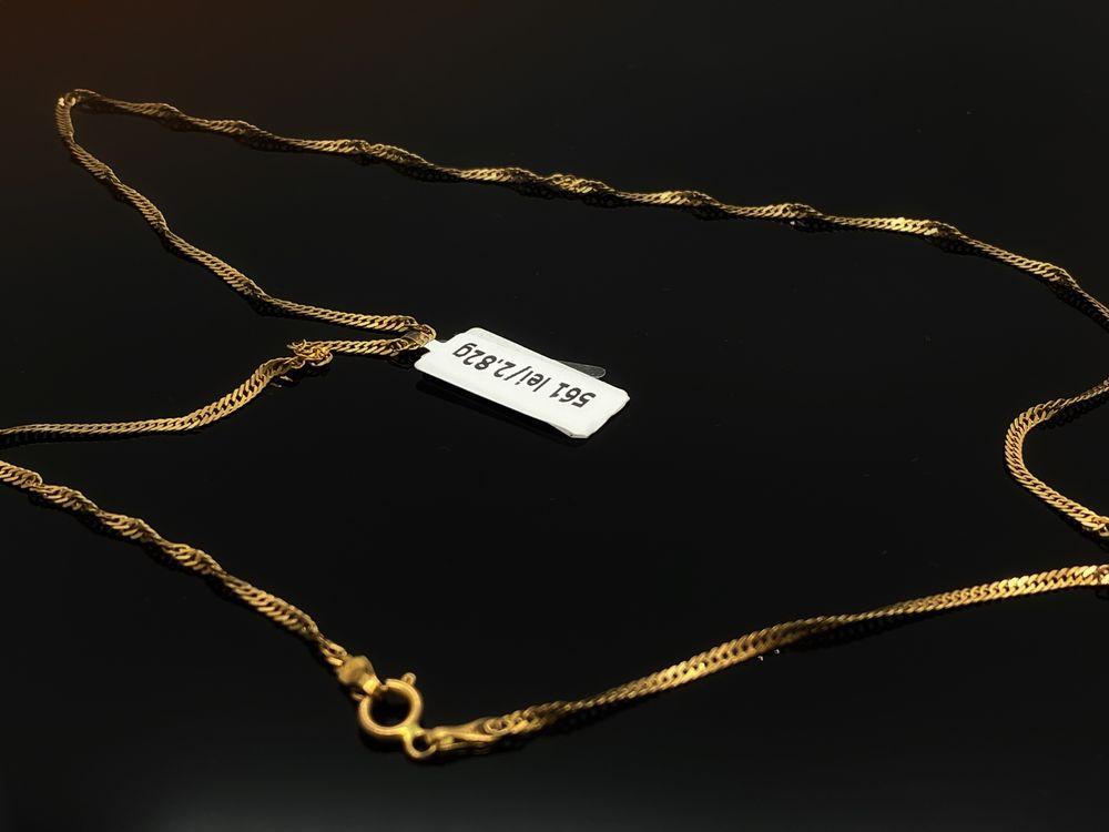Bijuteria ROYAL: Lant AUR 14K / 2.82 GR / Ca NOU / Certificat