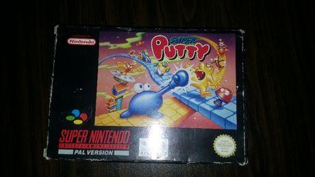 Super nintendo joc full box Super Putty