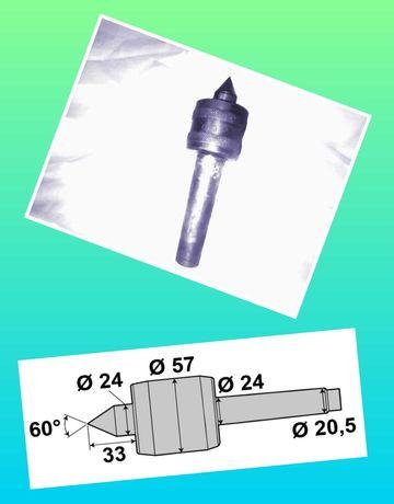 Varf rotativ con de centrare pentru strung CM3