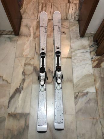 Skiuri Salomon Origins Pure White