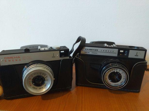 2 aparat/e foto SMENA:SYMBOL si 8 M,vechi/RUSIA/colectie/URSS