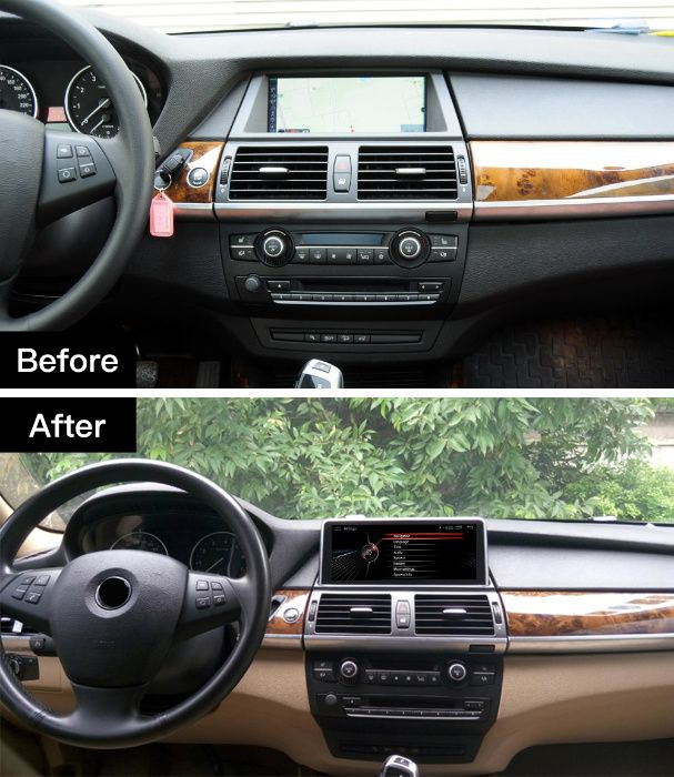 Navigatie GPS Android Octa core 4GB BMW X5 E70 X6 E71 MP3 Wi-Fi 4G sim Bucuresti - imagine 1