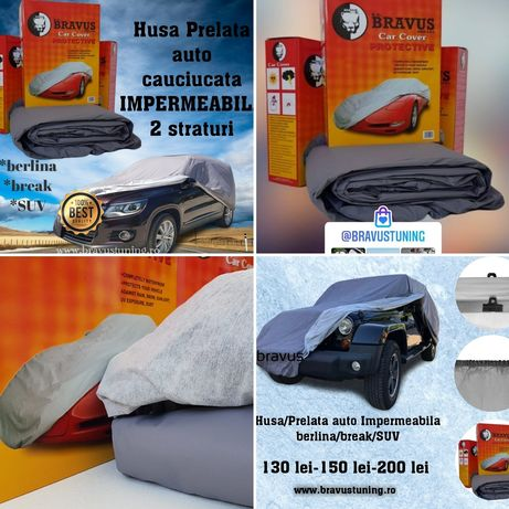 Husa Prelata auto cauciucata AUDI,BMW, Skoda,Opel,Ford,Vw,Seat,Fiat