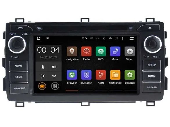 Toyota Auris 2012-2018 Навигация Андроид WiFi Bluetooth