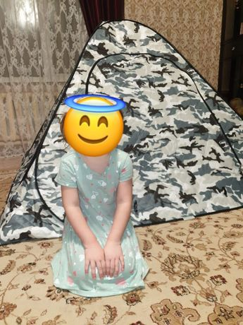 Палатка четырехслойная
