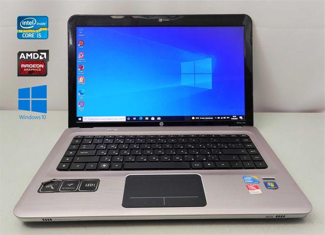 4х ядерный ноутбук HP Core i5-M480/DDR3 4GB/HDD 320GB/ Radeon HD 5000