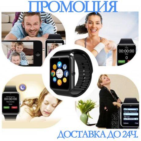 Смарт часовник GT08, сим карта, слот мемори каrта, камера