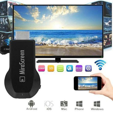 MiraScreen chromcast smart tvbox беспроводной приемник  на телевизор