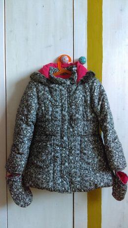 Зимно яке за момиче 5-6 години