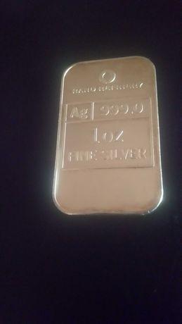 Lingou argint 1 uncie