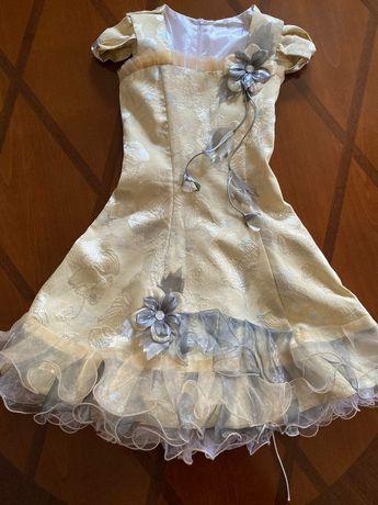 Детское платье с корсетом