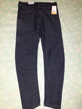 Jeans drepti Sculptured Fit TAPERED LEG DENIM H&M men