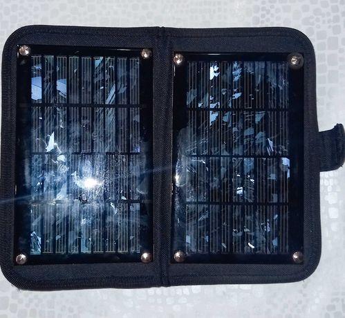 Зарядное  устройство от солнечной энергии