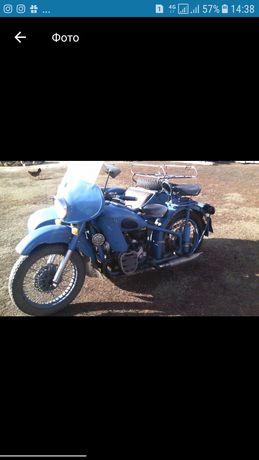 Мотоцикл Урал М72 1957года.