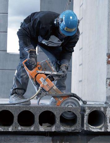 Ломаем бетон Отбойным молотком Демонтаж Алмазная резка бетона Лом слом