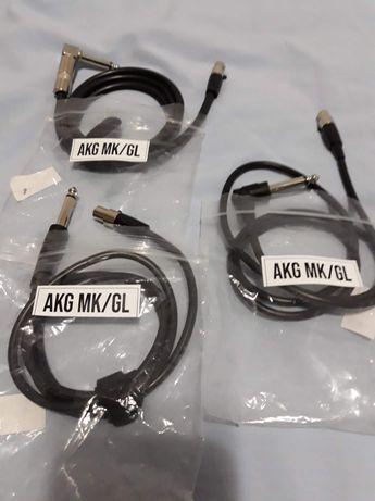 Cablu mini XLR cu 3/4 pini la jack 6.3mm pentru transmitter AKG/SHURE