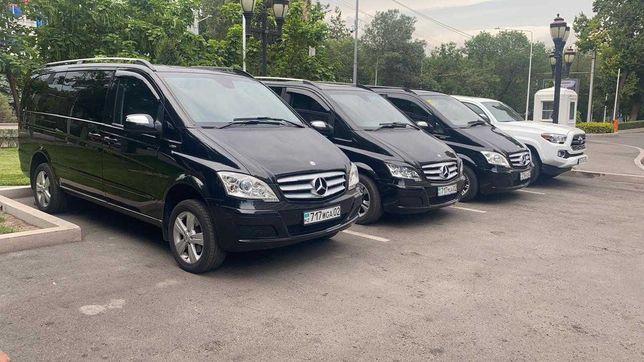 Аренда микроавтобусов Viana, V-class. Минивэн. автобус. автопрокат
