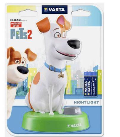 Lampa LED de veghe Varta Secret Life of Pets Night