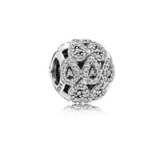 Talisman Pandora - Eleganţă în valuri din argint