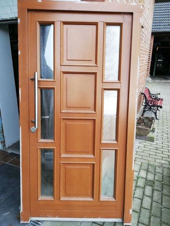 Usa casa firma vila lemn geam termopan H 210 x L 110