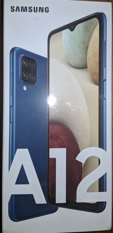Vand Samsung A12 sigilat (full box)