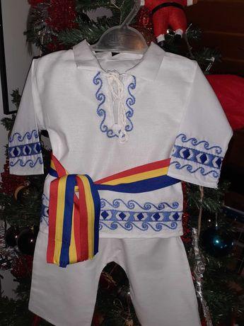 Costum popular tradițional băieți 0-6 luni