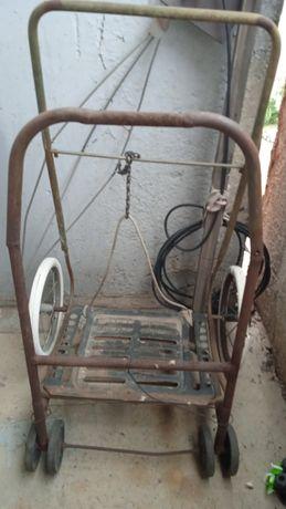 Дачные коляски металлические