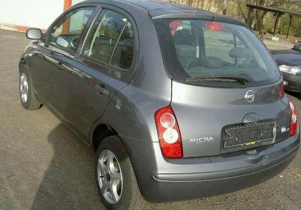Nissan Micra 2005 на части