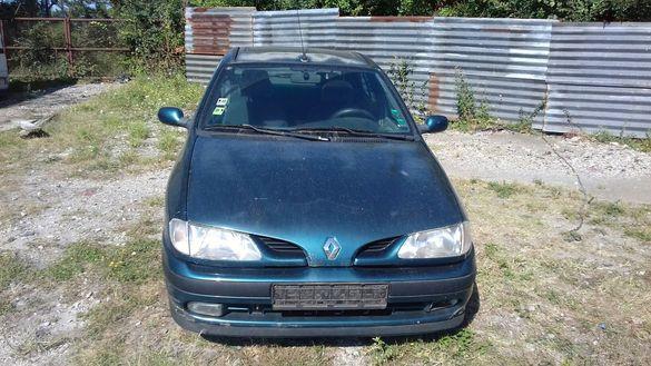 Renault megane 1.6i 74к.с. на части