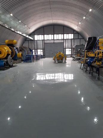 топинговые эпокситные полиуретановые бетонные полы
