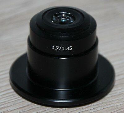 Zeiss Mikroskop Microscope Dunkelfeldkondensor Kondensor 0,7/0,85