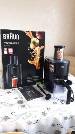 Соковыжималка фирма Braun