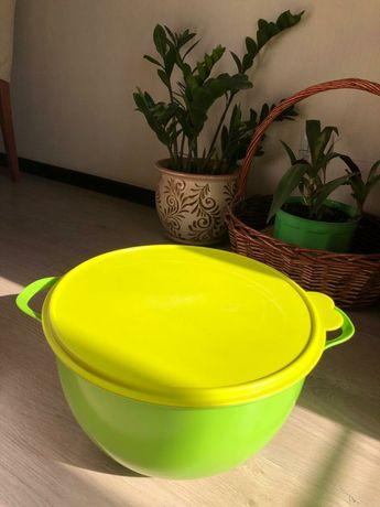 Tapperware  Чаша для замеса теста 10 литров-7000 тг Ведро 8,5литров.