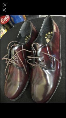 Обувки чисто нови от естествена кожа Classic man line made in Spain