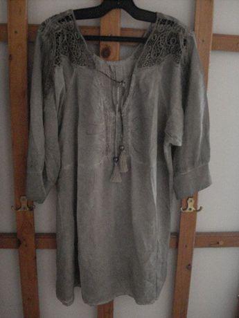 продавам блуза и рокля италия -100% памук